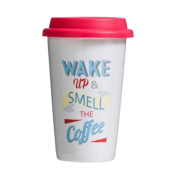 Cestovný hrnček Premier Housewares Wake Up 330ml