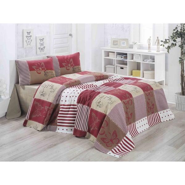 Ľahká prikrývka na posteľ Butterly,200x230cm
