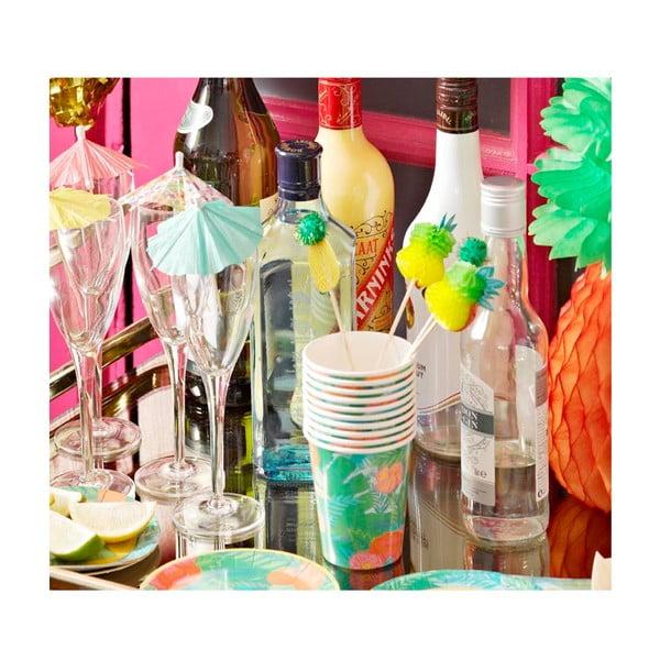 Sada 12 papierových téglikov Talking Tables Fiesta