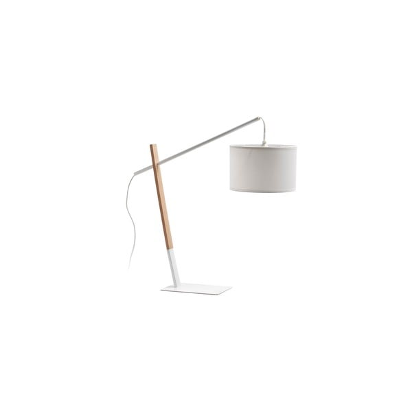 Biela stolová lampa La Forma Izar