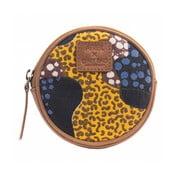 Horčicová peňaženka na drobné O My Bag Circular