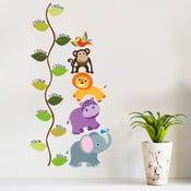 Dekoratívna samolepka na stenu Jungle meter