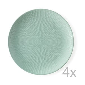 Sada 4 tanierov Granaglie Eau, 27 cm