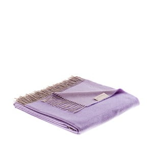 Vlnená prikrývka Rialto 130x180 cm, fialová