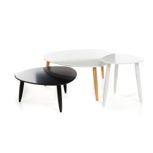Sada 3 kávových stolíkov Tomasucci Kyra