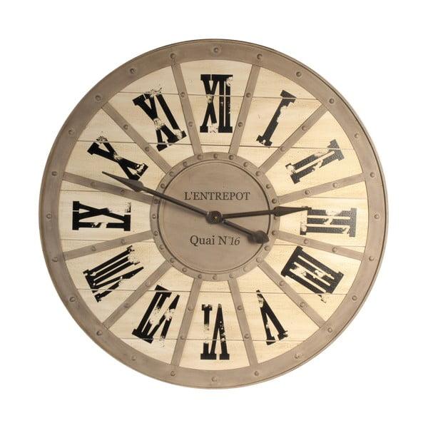 Nástenné hodiny Antic Line Quai, ⌀ 93 cm