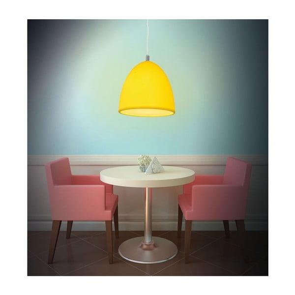 Stropné svetlo Silicon Yellow