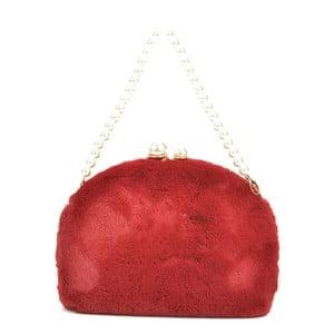 Červená listová kabelka Renata Corsi Garno
