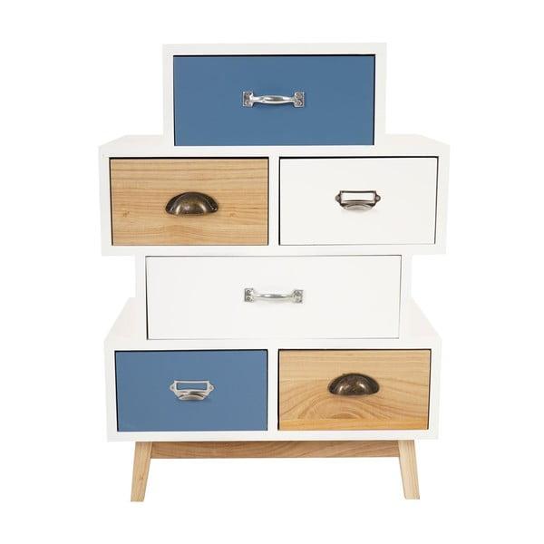 Komoda Vaasa Cabinet Patchwork, 74 cm