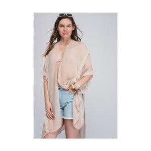 Béžová dámska tunika z čistej bavlny NW