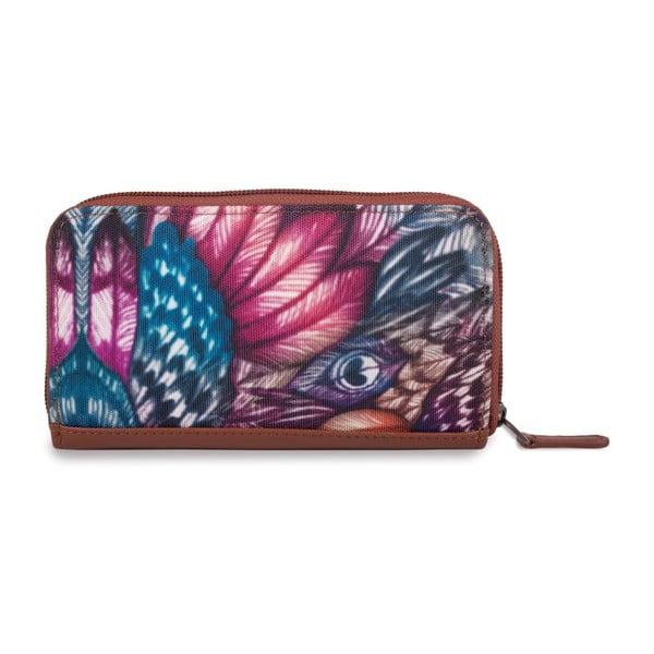 Peňaženka Lois Peacock, 16x9 cm