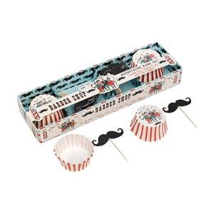 Set na pečenie muffinov Rex London Moustache
