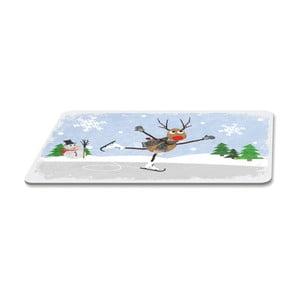 Podnos s vianočným motívom PPD Winter Tale, 23,3 × 14,3 cm