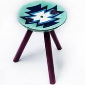 Ručne maľovaná stolička Biertan, 38 cm