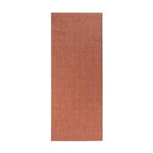 Behúň v terakotovej farbe vhodný aj do exteriéru Match, 80×200 cm