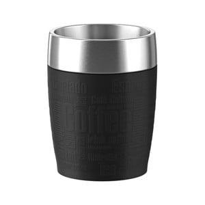 Cestovný termohrnček Travel Cup Black, 200 ml