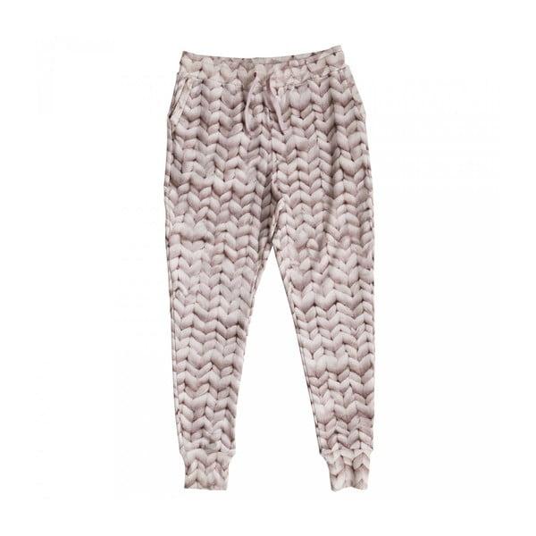 Dámske ružové nohavice Snurk Twirre, veľ. M