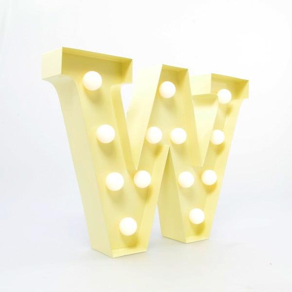 Dekoratívne svetlo Carnival W, vanilkové