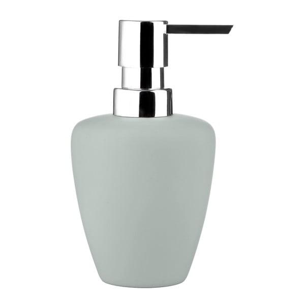 Svetlosivý dávkovač mydla Zone Soft