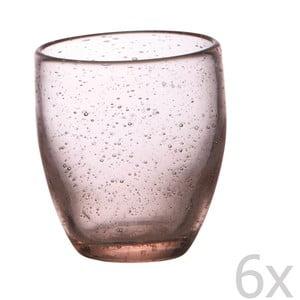 Sada 6 pohárov Victor Pink