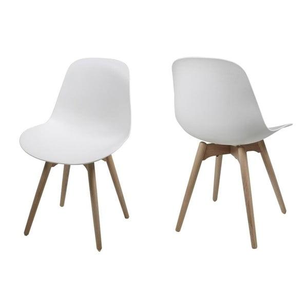 Biela jedálenská stolička Actona Scramble
