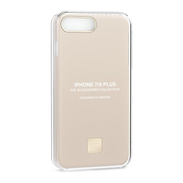 Ochranný kryt na telefón pre iPhone 7 a 8 Plus v telovej farbe Happy Plugs Slim