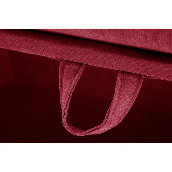 Trojdielna sedacia súprava Jalouse Maison Serena, červená