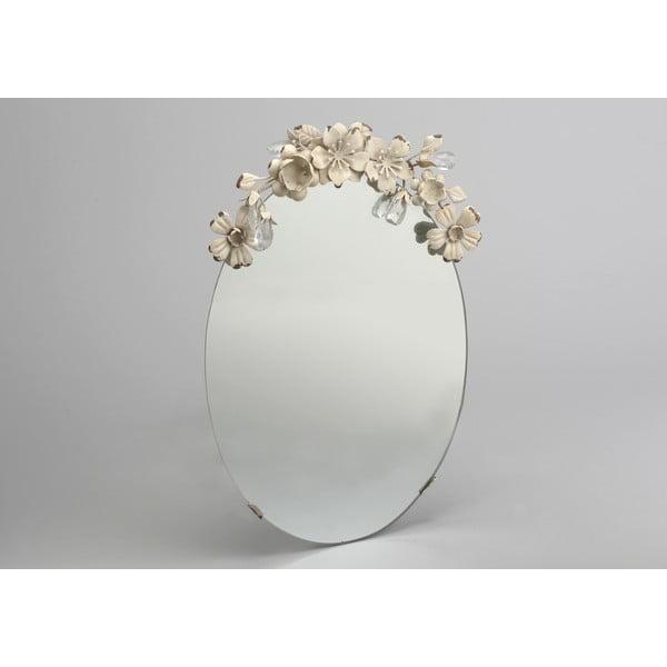 Zrkadlo Flowers Mirror, 25x41 cm