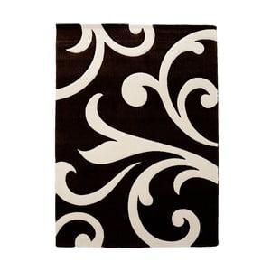 Čierny koberec Tomasucci Damasko, 60 x 110 cm