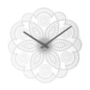 Hodiny Present Time Lace White