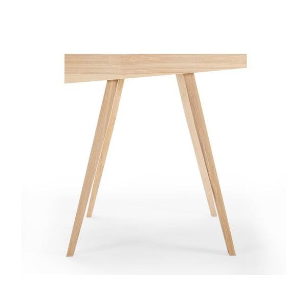 Písací stôl EMKO 4.9, 1 zásuvka, litovský jaseň