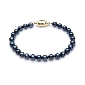 Modrý perlový náramok GemSeller Davet