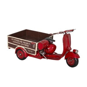 Dekoratívna motorka Antic Line Vespa Triporteur