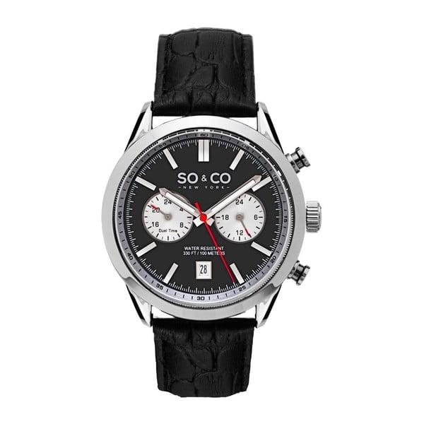 Pánske hodinky Monticello Style Silver/Black