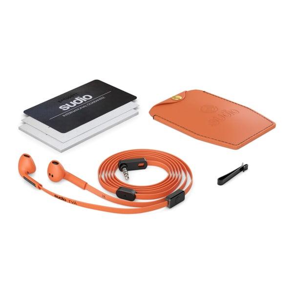 Oranžové slúchadlá Sudio TVÅ
