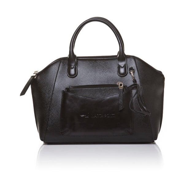 Kožená kabelka do ruky Marta Ponti Aipee, čierna
