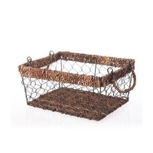 Prútený košík Wicker, 28 cm