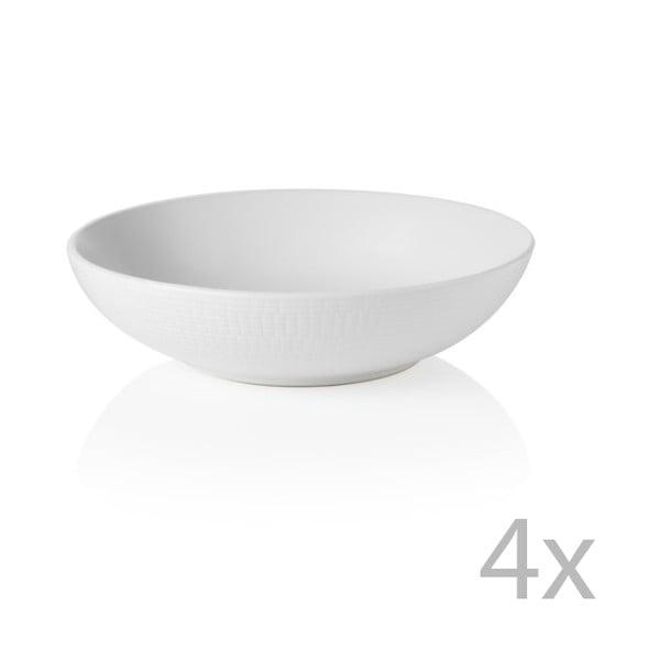 Sada 4 misiek Granaglie Blanc, 20 cm
