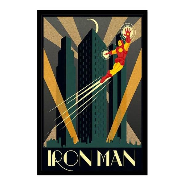 Plagát Iron Man, 35x30 cm