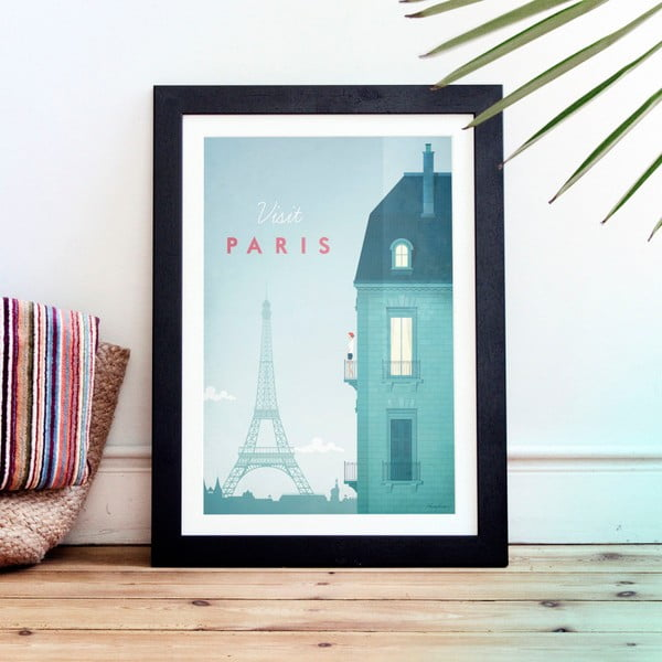 Plagát Travelposter Paris, A3