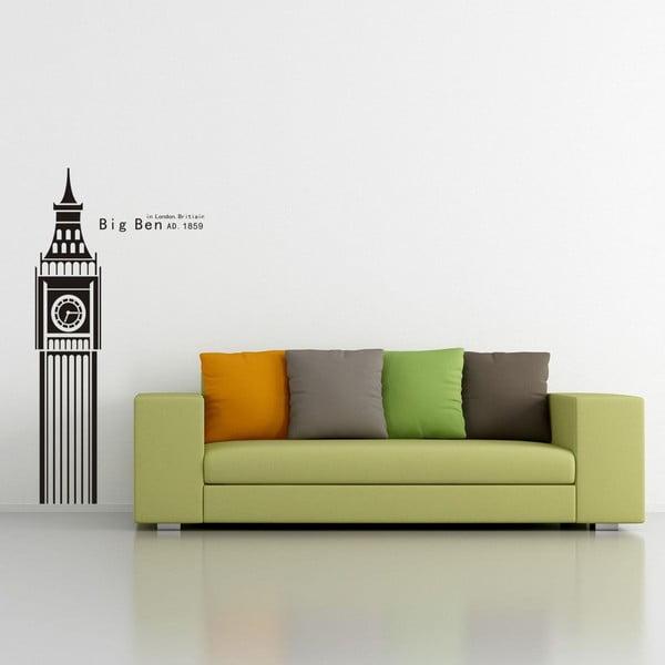 Dekoratívna samolepka Big Ben, 100x50 cm