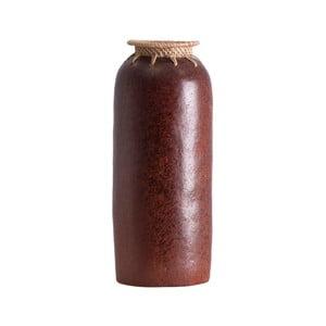 Váza z exotického dreva Last Deco Kenya, výška 30 cm