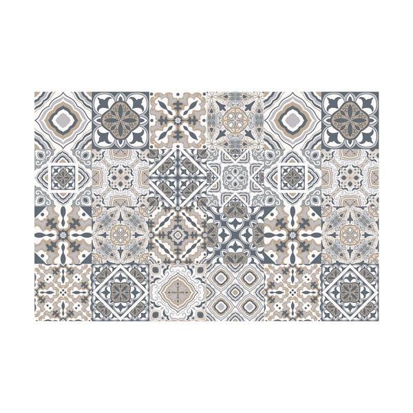 Sada 24 dekoratívnych samolepiek na stenu Ambiance Giacomo, 15×15 cm