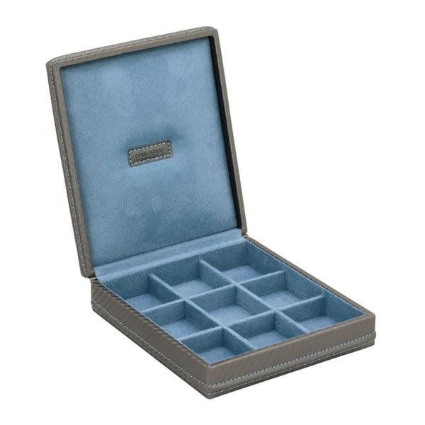 Krabička na manžetové gombíky Carbon Grey
