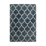 Ručne vyrobený koberec Kayoom Smooth Blau, 160 x 230 cm