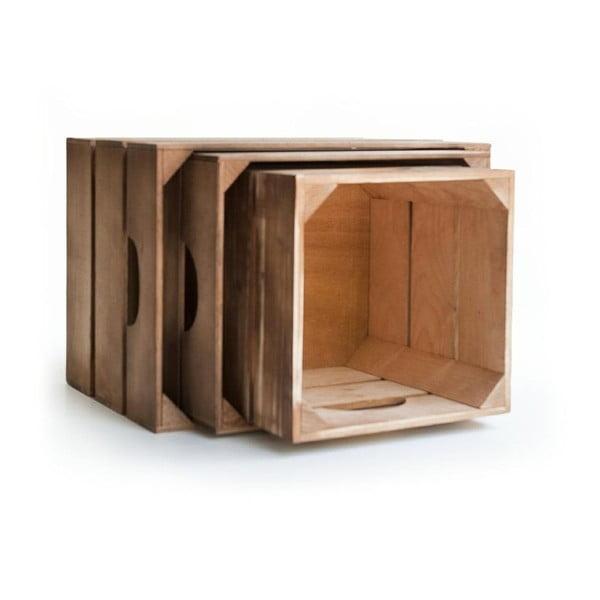 Sada drevených boxov Really Nice Things 1975