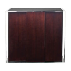 Hnedá komoda s 3 dvierkami Kare Design Vanity