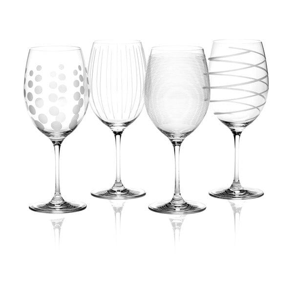 Sada 4 pohárov na červené víno Mikasa