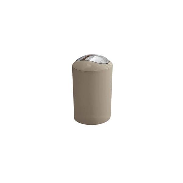 Odpadkový kôš Glossy Taupe, 3 l