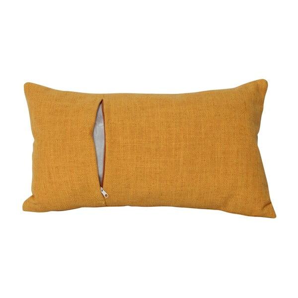 Vankúš Brando Jaune, 30x50 cm